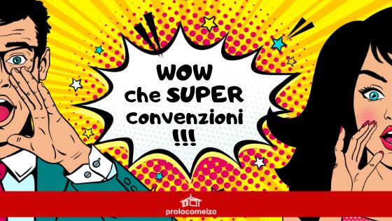 Convenzioni per soci Pro Loco Melzo – 2019