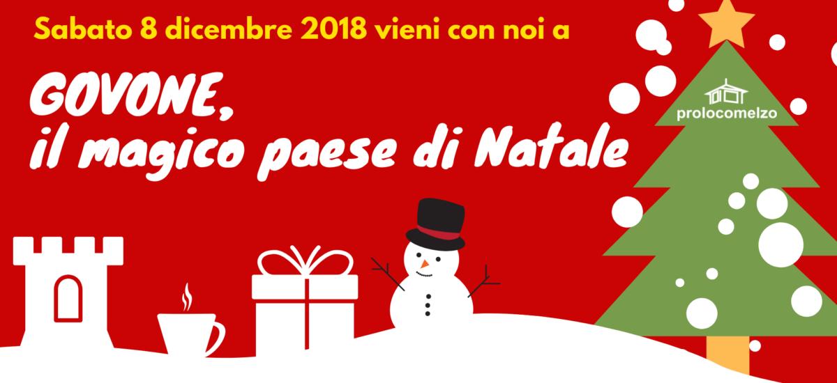 8 DICEMBRE: GITA AL MERCATINO DI NATALE DI GOVONE (CN)